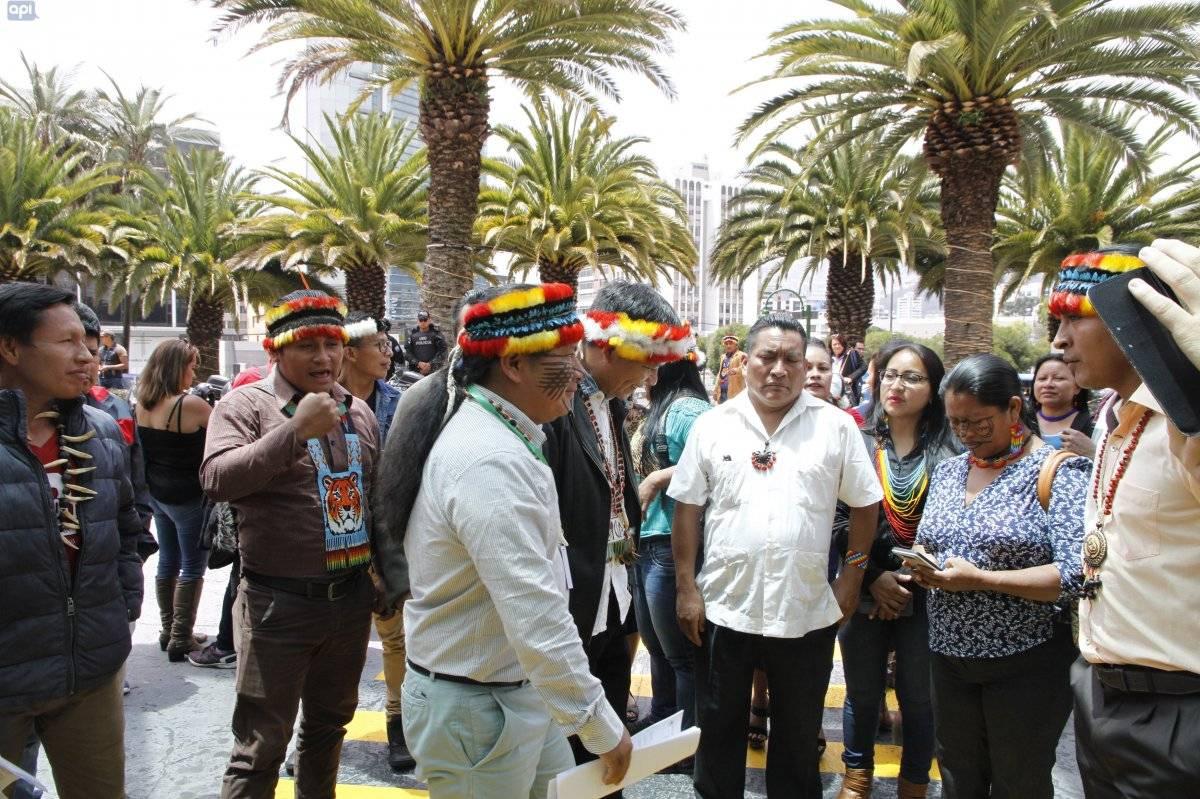 Indígenas exigen al Gobierno que cese las licitaciones petroleras API