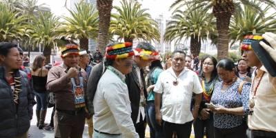 Indígenas exigen al Gobierno que cese las licitaciones petroleras