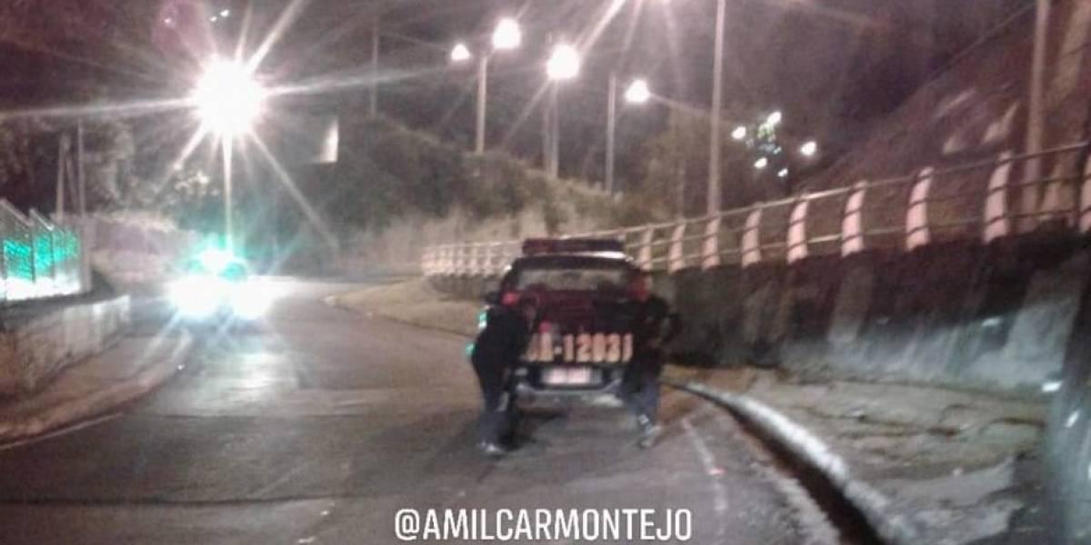 VIDEO. Reportan balacera por intento de robo en la zona 18