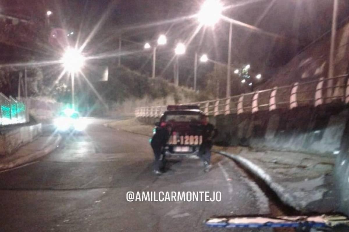 Un supuesto roba furgones murió al escapar de la Policía en la ruta al Atlántico. Foto: Amílcar Montejo