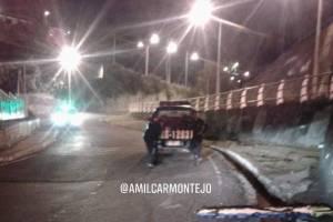 enfrentamiento entre PNC y robafurgones en zona 18