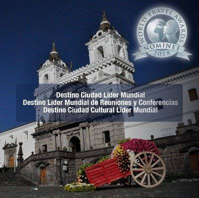 Quito participa en los World Travel Awards a nivel mundial