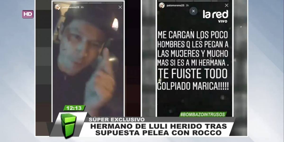 """Hermano e hijo de Luli habrían golpeado a su ex pareja por """"pasarse la movie"""" con ella"""