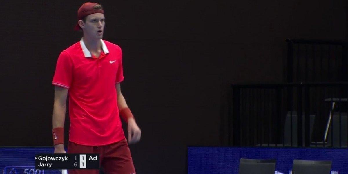 Los 23 aces de Nicolás Jarry no le alcanzaron y se despidió muy temprano del ATP 500 de Basilea