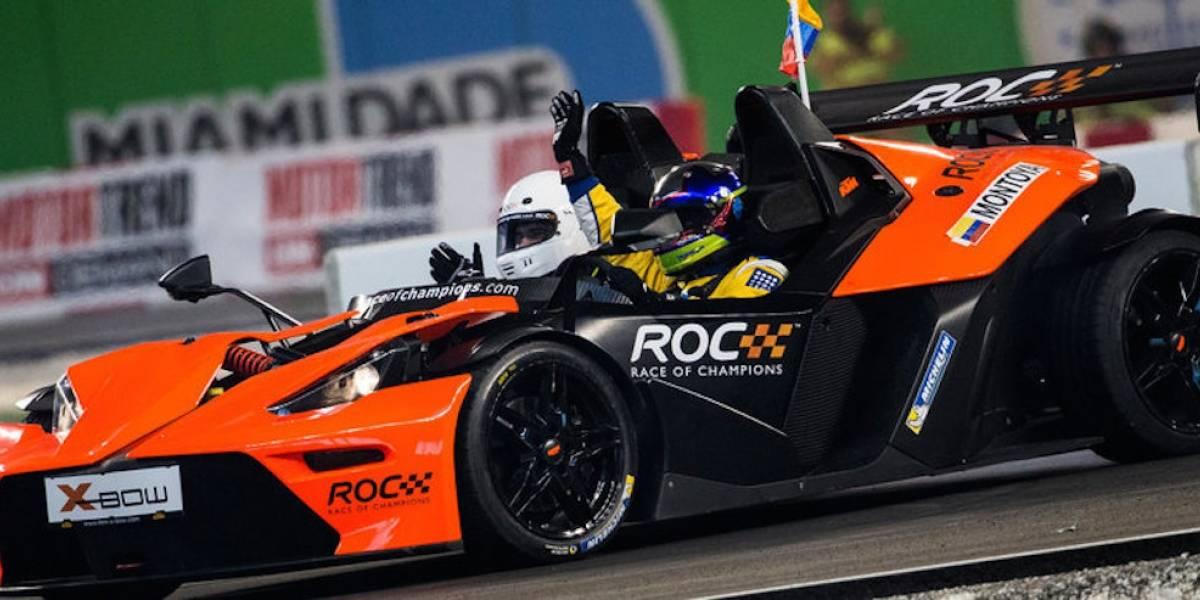 Race of Champions llega al Foro Sol de la CDMX