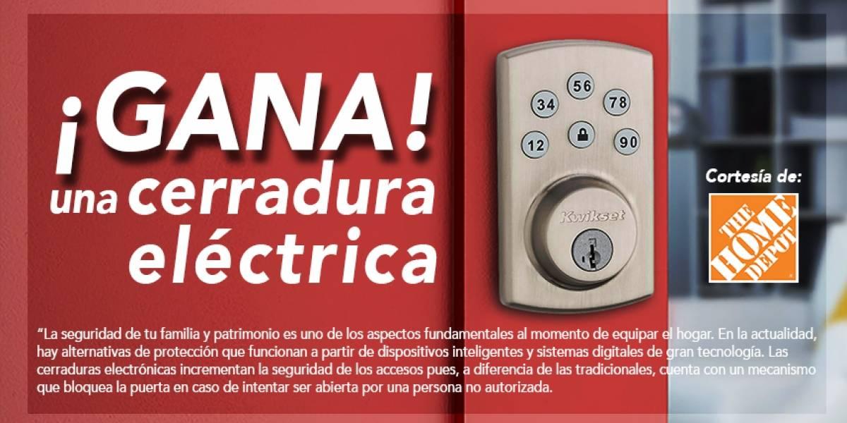 ¡Gana!una cerradura eléctrica