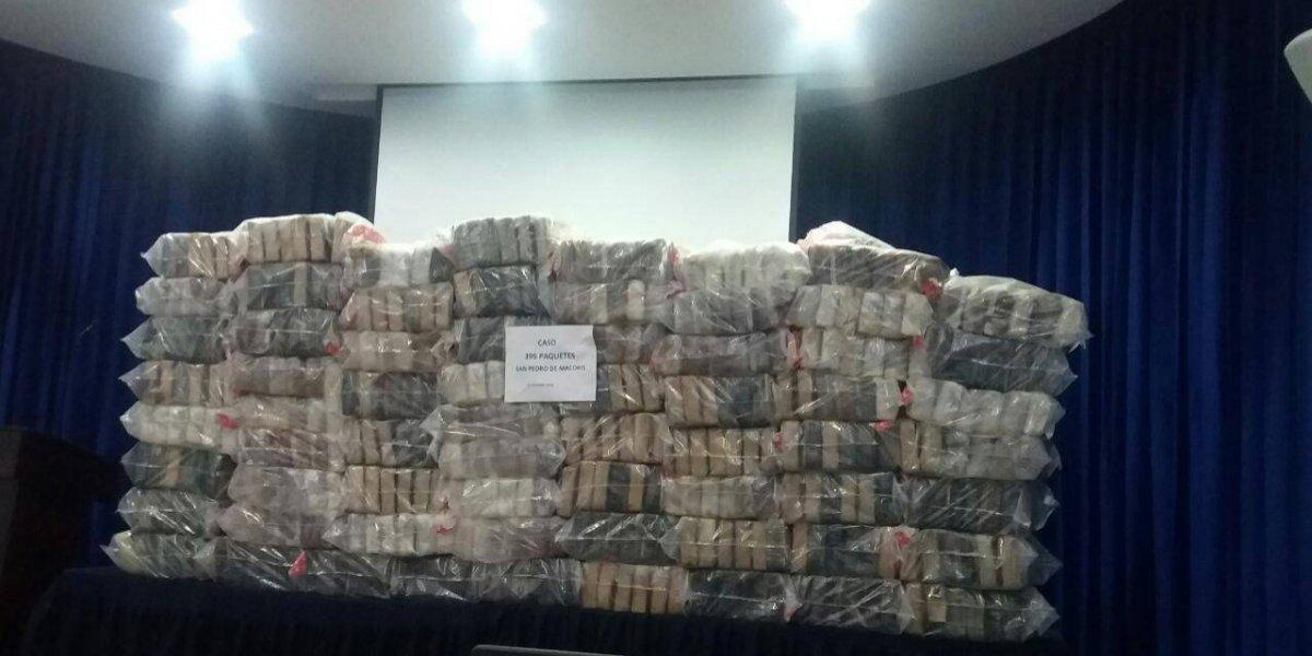 Incautan 395 paquetes de cocaína en costa de San Pedro de Macorís