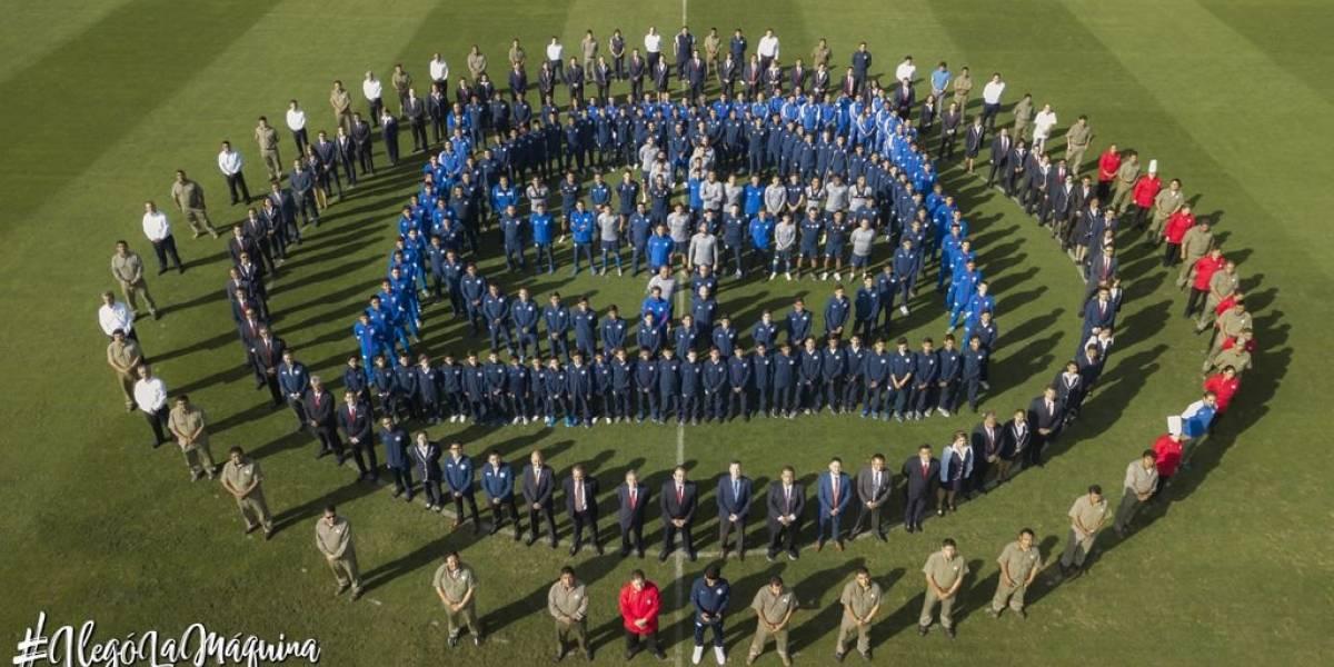Cruz Azul sorprende a su afición con fotografía institucional