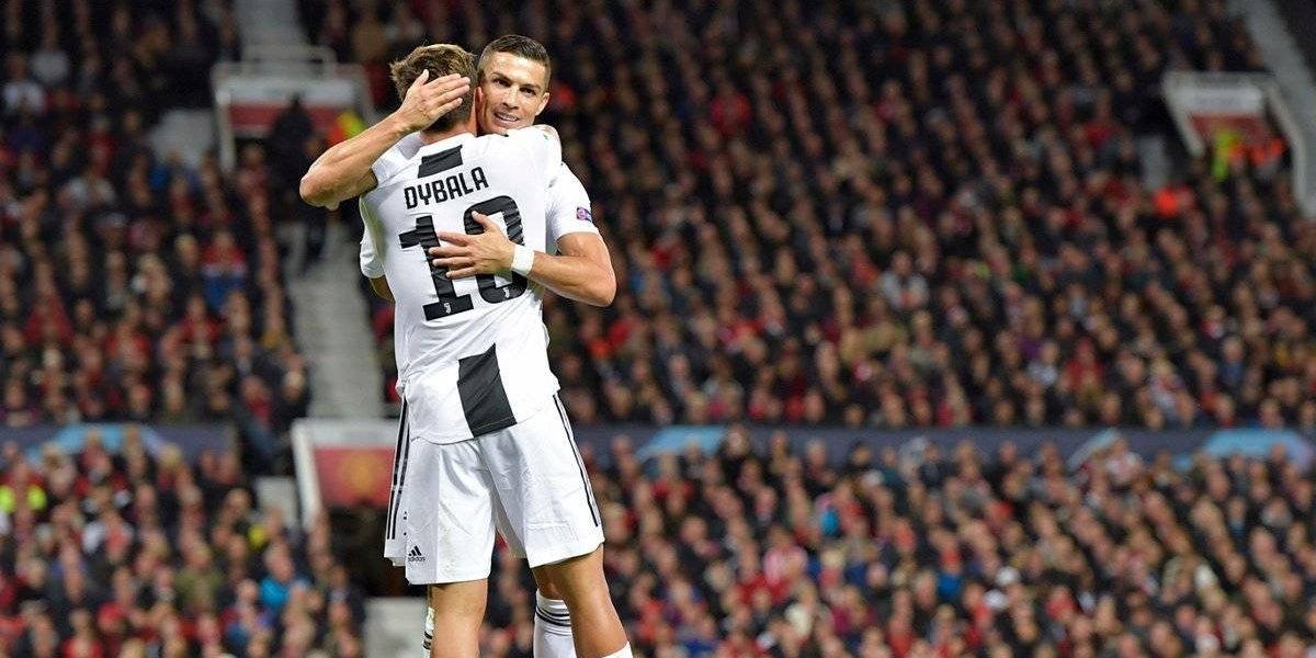 Dybala da victoria a la Juve sobre el ManU