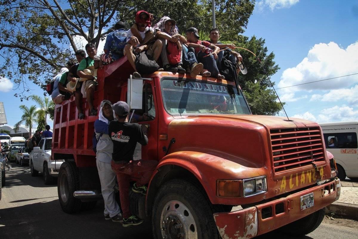 A diez días, más de 7 mil personas integran la caravana Foto: Cuartoscuro