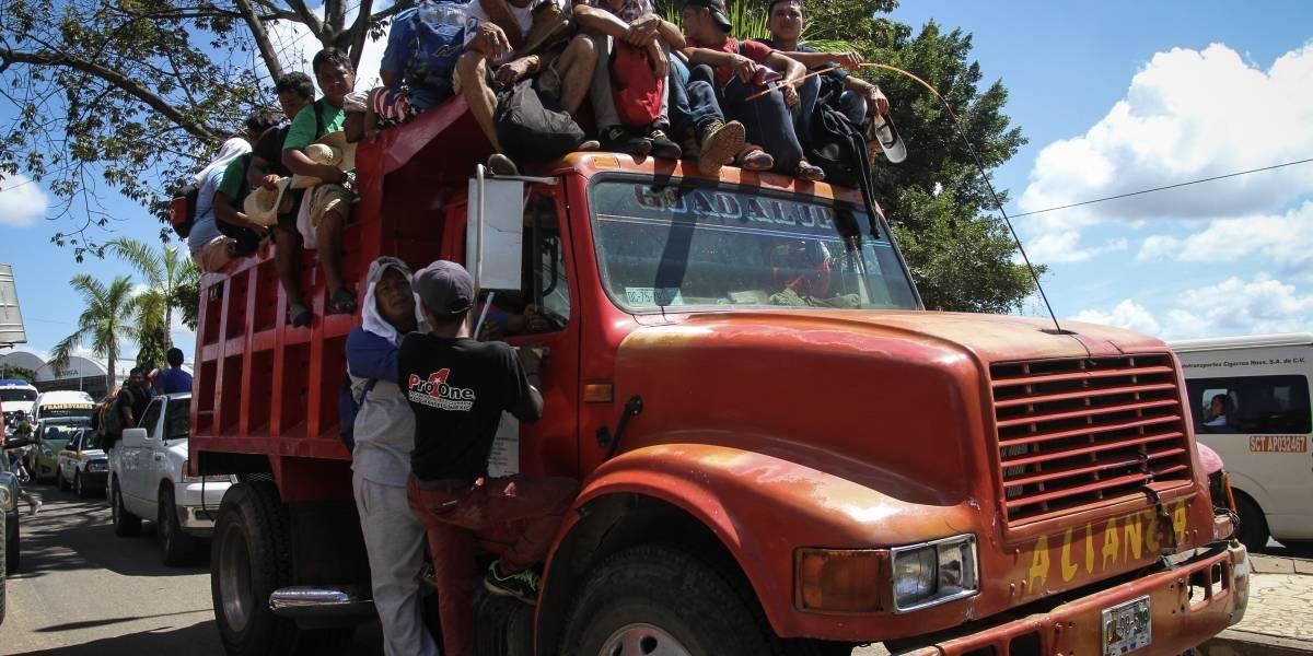Mapa: En estos lugares reciben ayuda para los migrantes hondureños