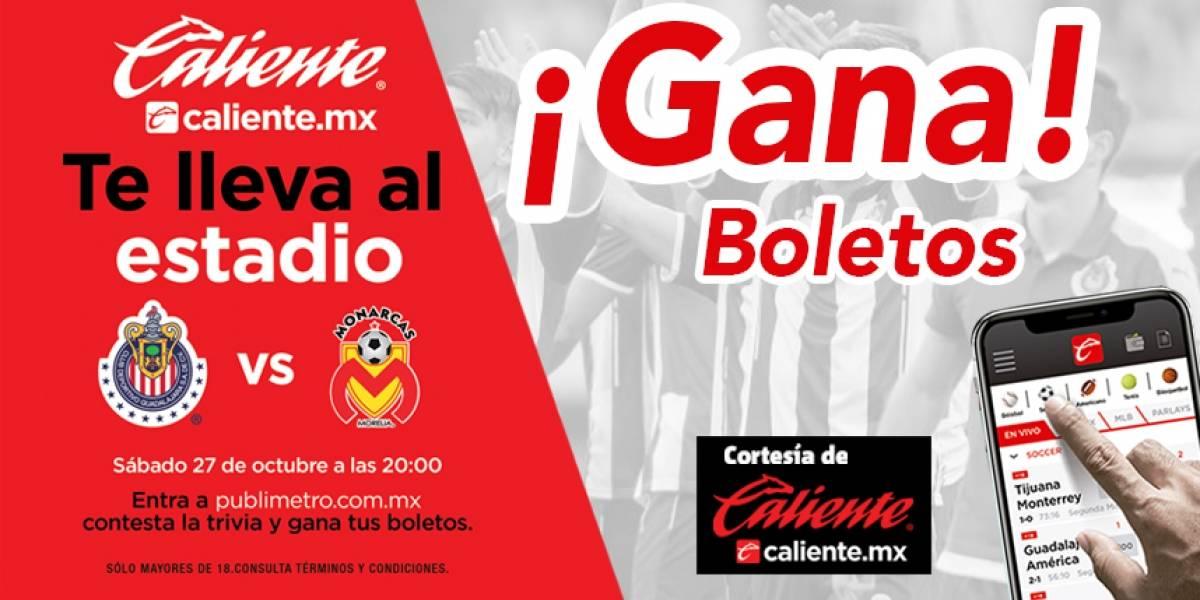 ¡Gana! pase doble para el partido Chivas vs Monarcas