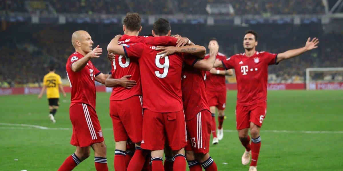 Javi Martínez y Robert Lewandowski le dan la victoria al Bayern