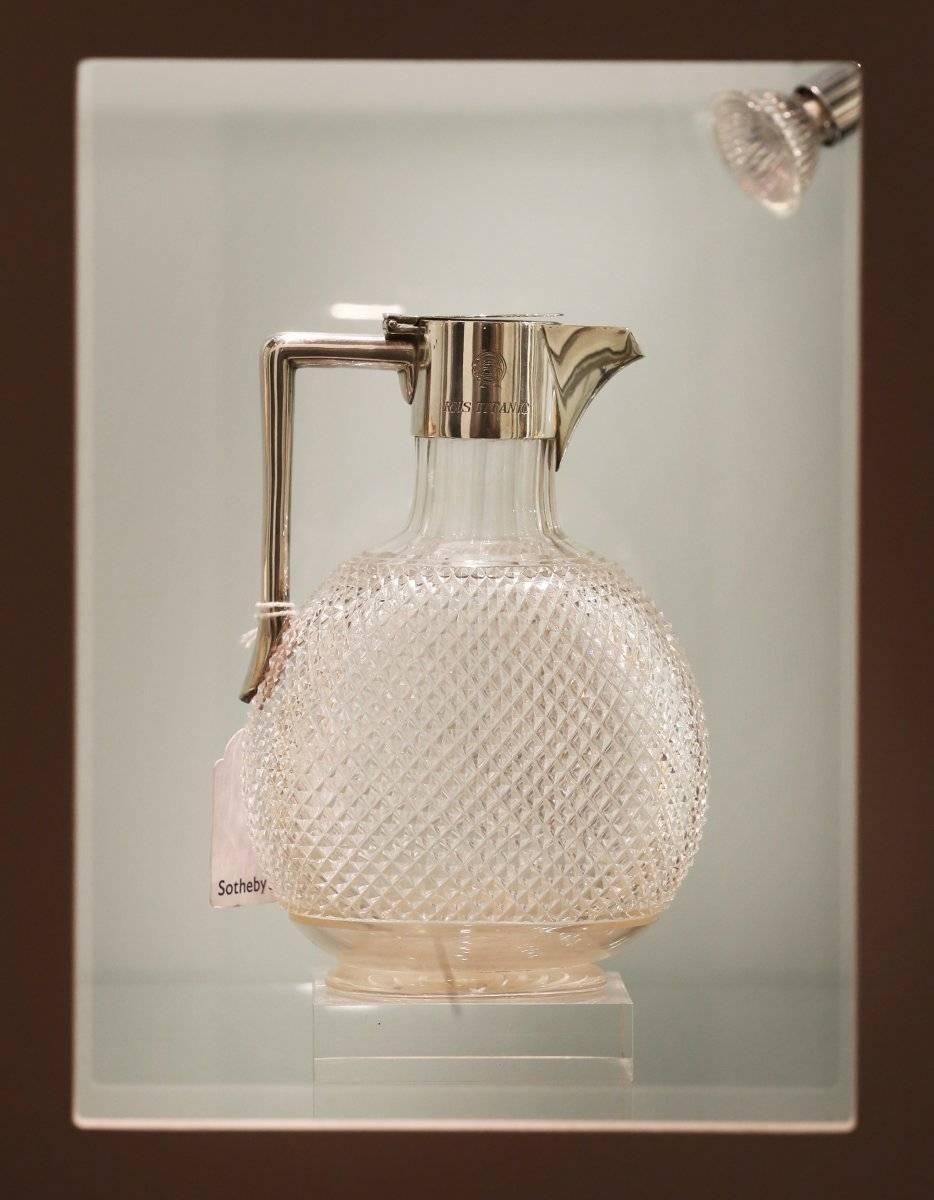 Una jarra de vidrio tallado Foto: Getty Images