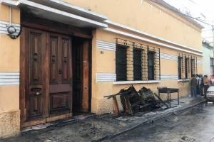 incendio en hotel de la zona 1