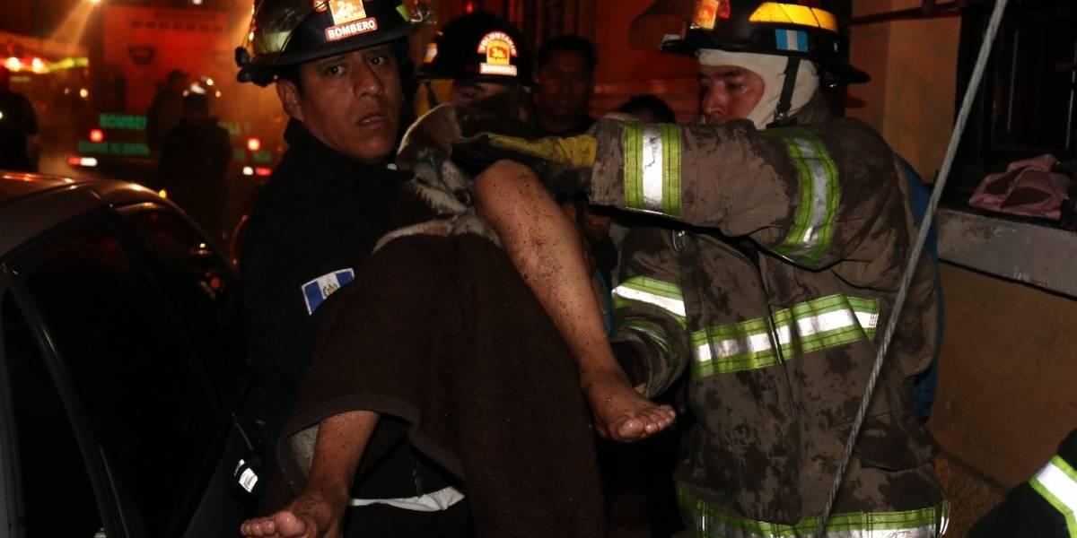 Menor que quería estar con su padre en vacaciones muere en incendio