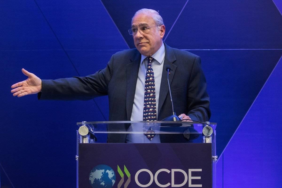 José Ángel Gurría, secretario general de la OCDE Foto: Cuartoscuro