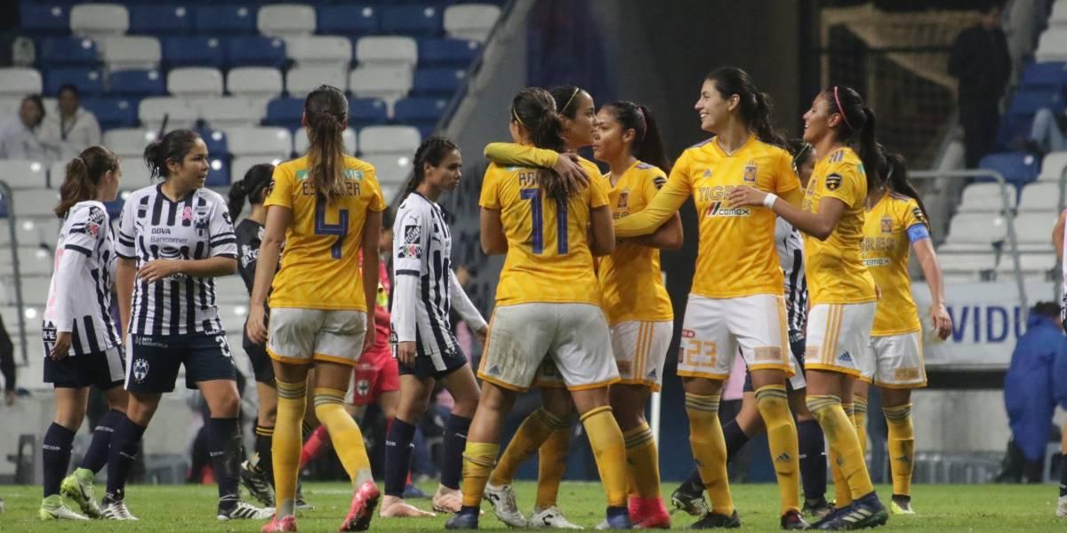 Tigres vence a Rayadas y se lleva el Clásico femenil