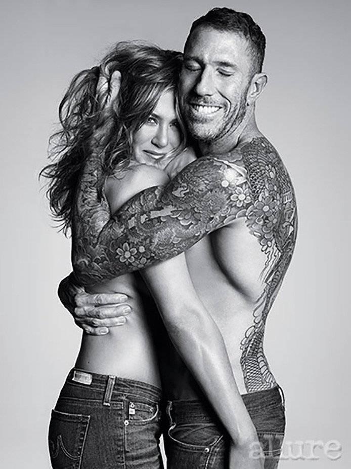 Jennifer Aniston y Chris McMillan