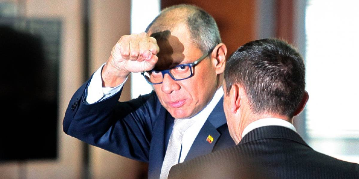 Jorge Glas se pronuncia tras ser vinculado con empresa china allanada por presunto lavado de activos
