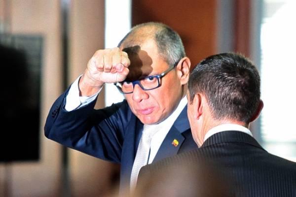 Jorge Glas tiene sentencia desde el 2017