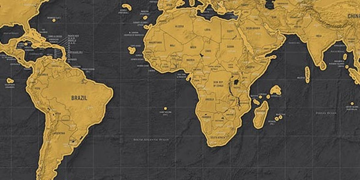 El mapamundi que conocemos no es cierto: este es el verdadero tamaño de los países