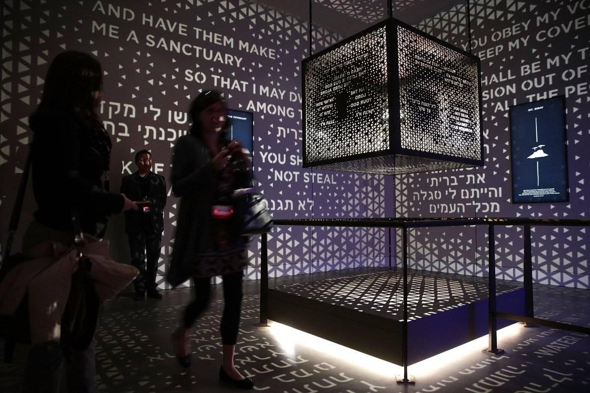 Alberga miles de textos y artefactos relativos a la historia del Viejo y el Nuevo Testamento Foto: Getty Images