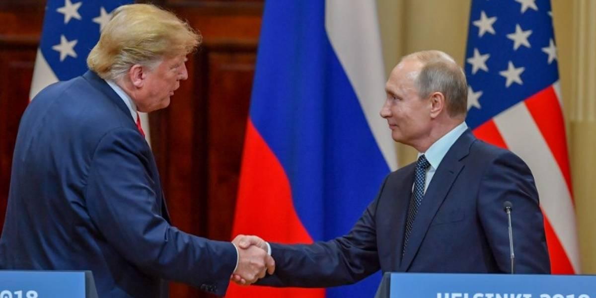 Trump quiere reunirse próximamente con Putin en París