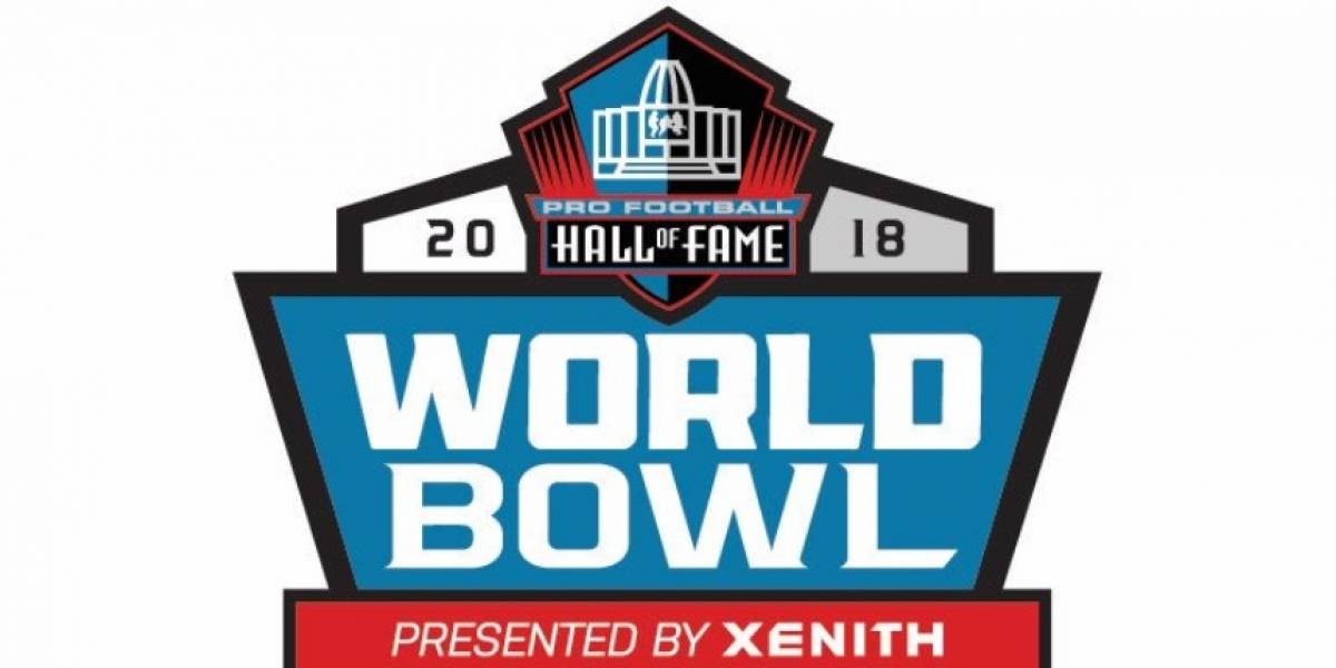 Un mexicano listo para el Pro Football Hall of Fame World Bowl 2018