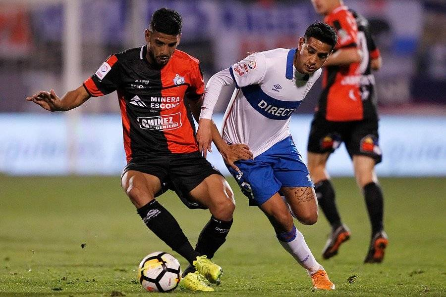 Andrés Vilches no jugaba desde el 26 de mayo. Ese día la UC igualó sin goles ante Antofagasta en San Carlos / Foto: Photosport
