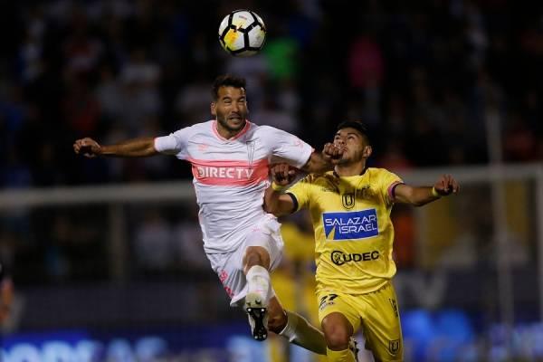 Germán Voboril llegó a mediados de 2017 a la UC y firmó un contrato por un año y medio / Foto: Photosport