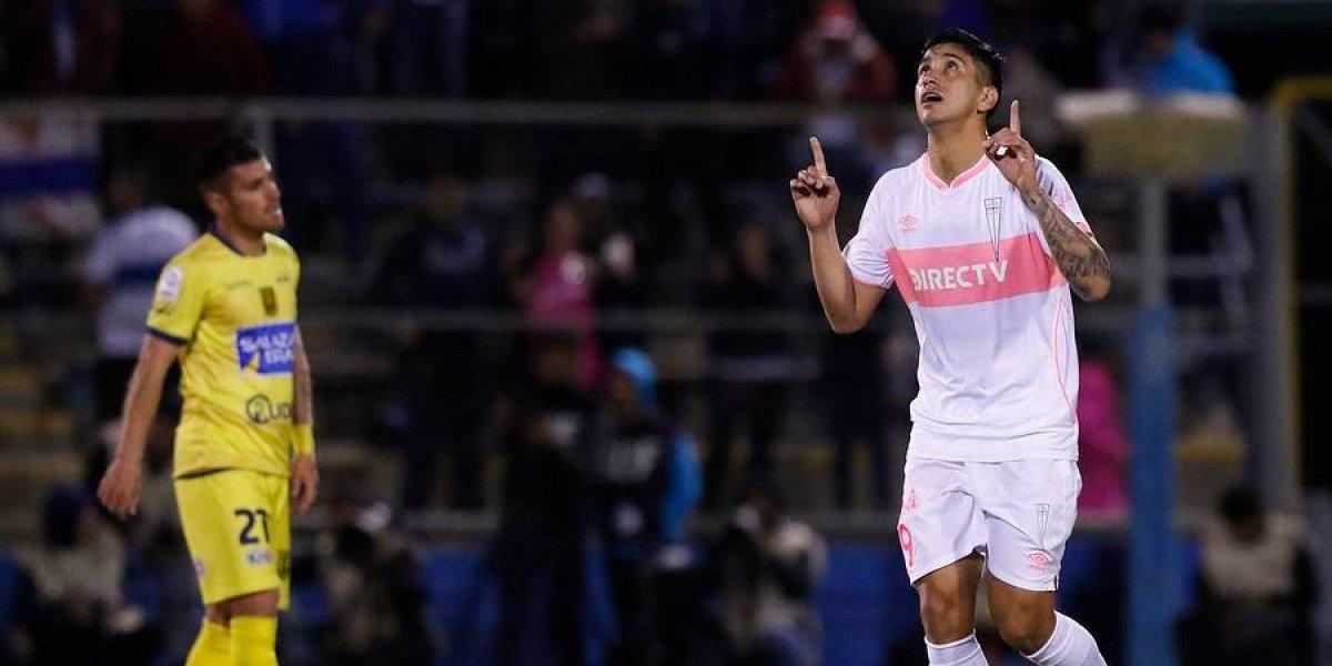 Andrés Vilches se gana la chance de ser refuerzo en la UC para la recta final de la temporada