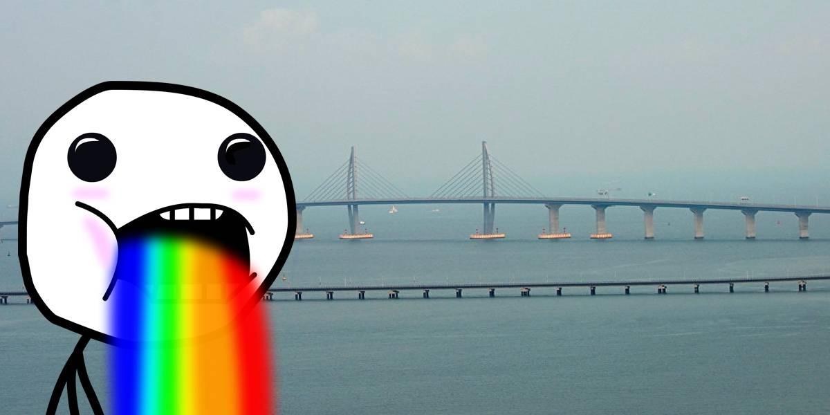 China termina el puente marítimo más largo del mundo