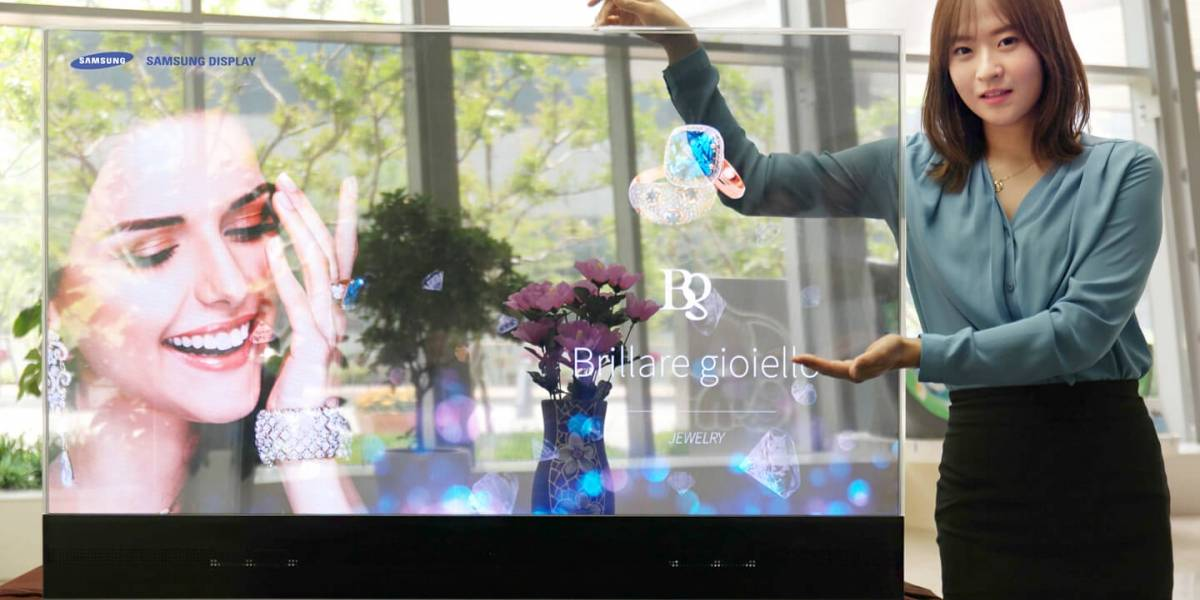 "No es ciencia ficción: Samsung patenta ""The Window"", su primer televisor transparente"