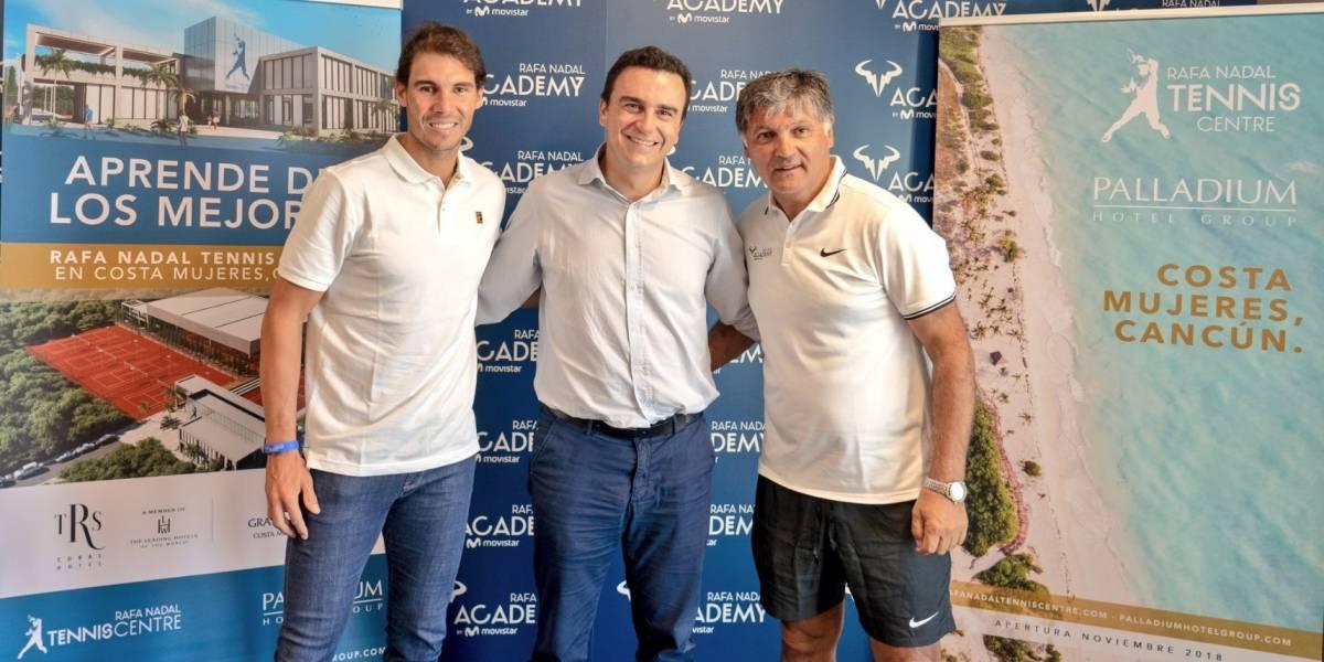 Rafael Nadal abrirá una academia en México