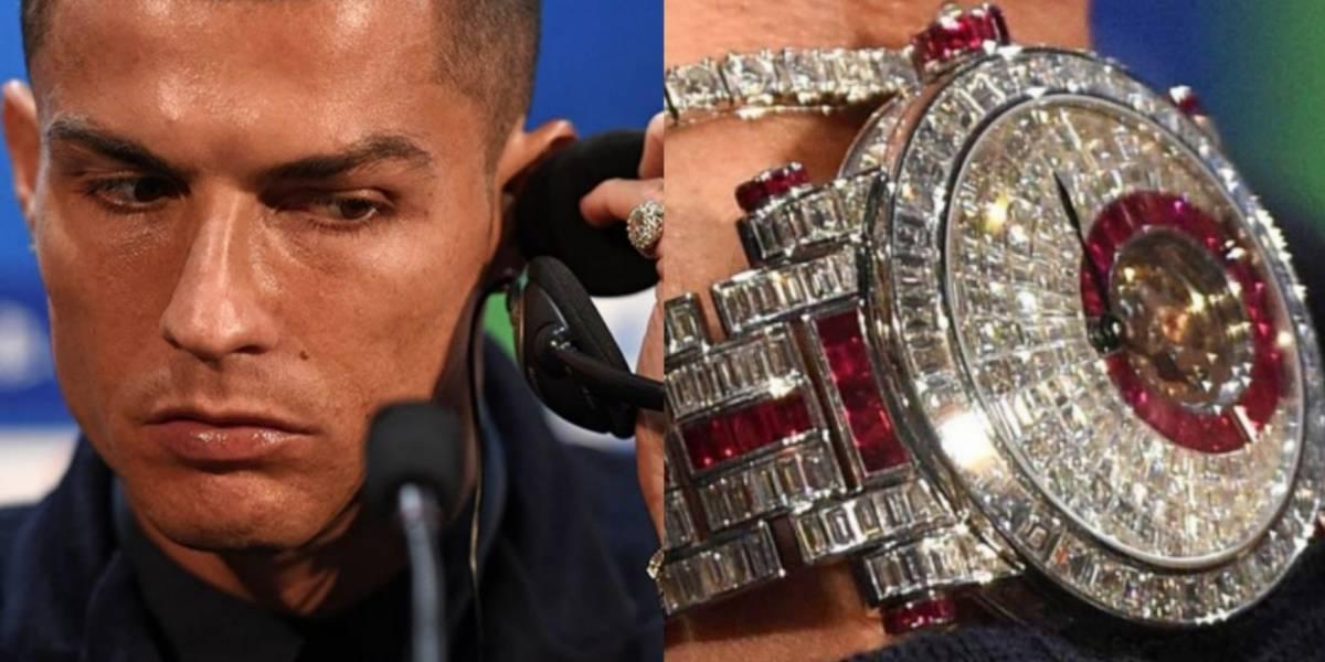 FOTOS: Conoce el reloj de CR7 valorado en 1 millón de euros
