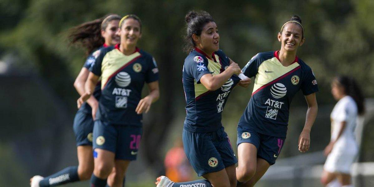 América toma revancha sobre Pumas en la Liga MX Femenil