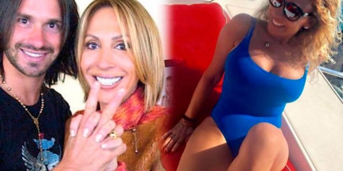 Ella es Adriana Amiel, la nueva pareja del exnovio de Laura Bozzo