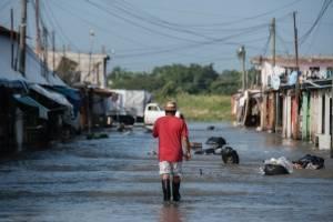 Inundaciones en Minatitlán