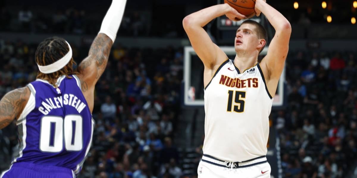 Denver Nuggets sorprende a todos en la NBA con un brillante Nikola Jokic