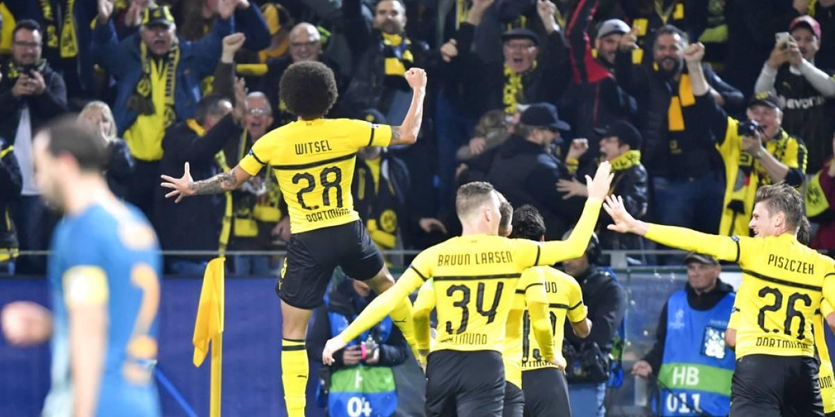 Borussia Dortmund barrió al Atlético de Simeone y le dio un mensaje a todos en la Champions