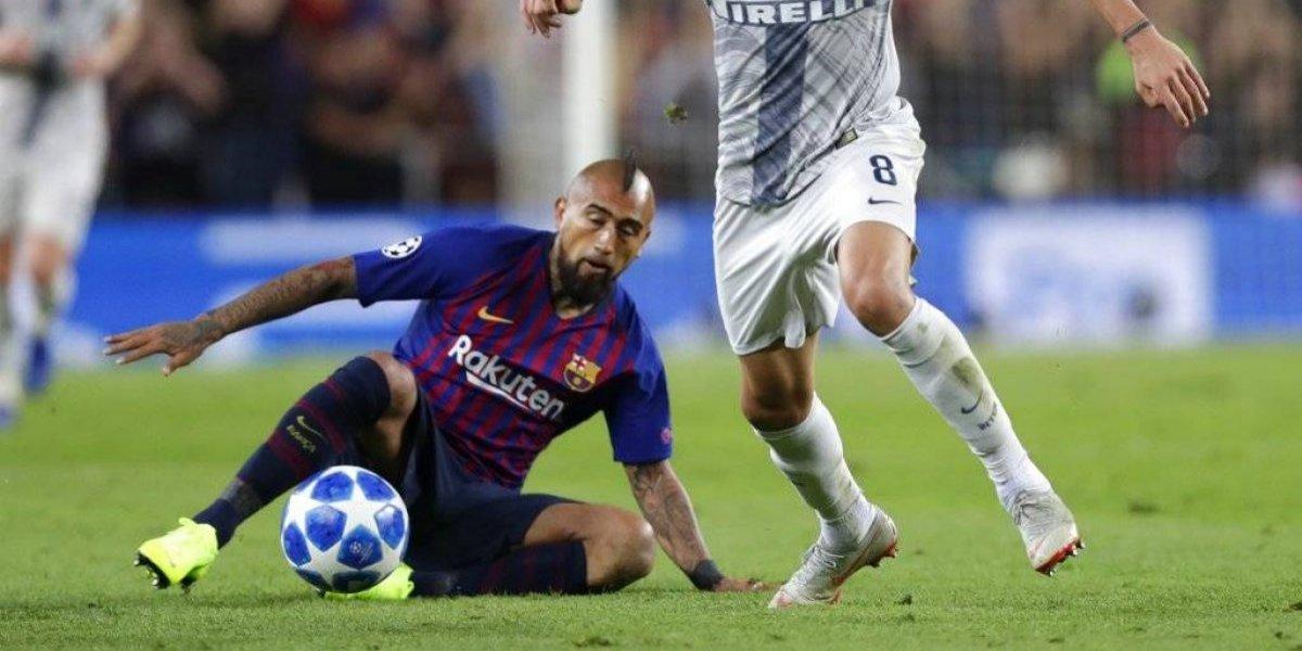 """El """"duro"""" Arturo Vidal le ganó a los """"pitos"""" en el Barcelona: """"Al chileno no le arruga nada"""""""