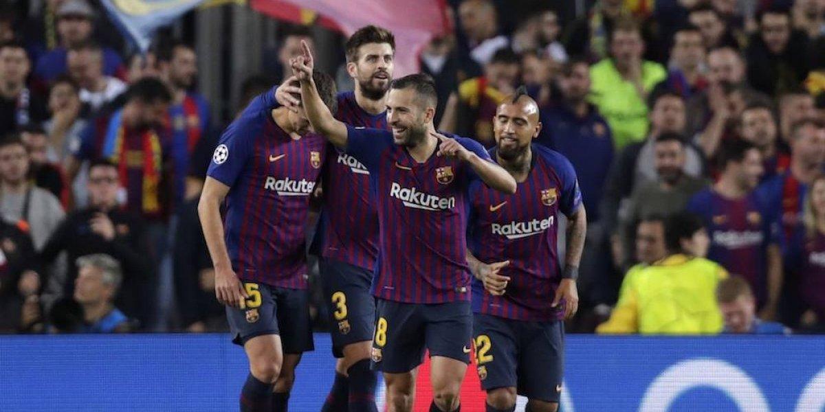Sin Messi, Barcelona se impone sobre el Inter en la Champions League