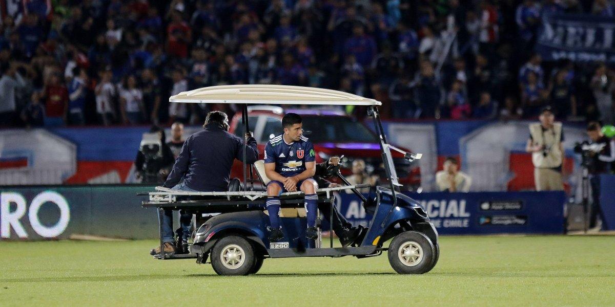 David Pizarro es la gran duda de la U de Kudelka para el Clásico Universitario