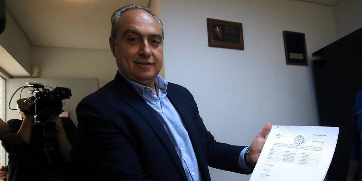 """Uauy inscribió su lista para las elecciones ANFP: """"No queremos seguir viendo por el espejo retrovisor lo que ya pasó"""""""