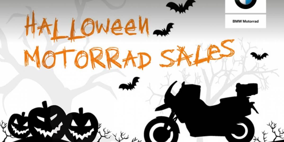 De terror: Halloween también invade las dos ruedas