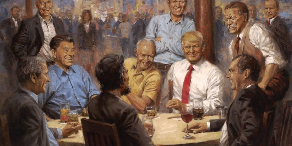 Conoce al creador de la pintura favorita de Trump