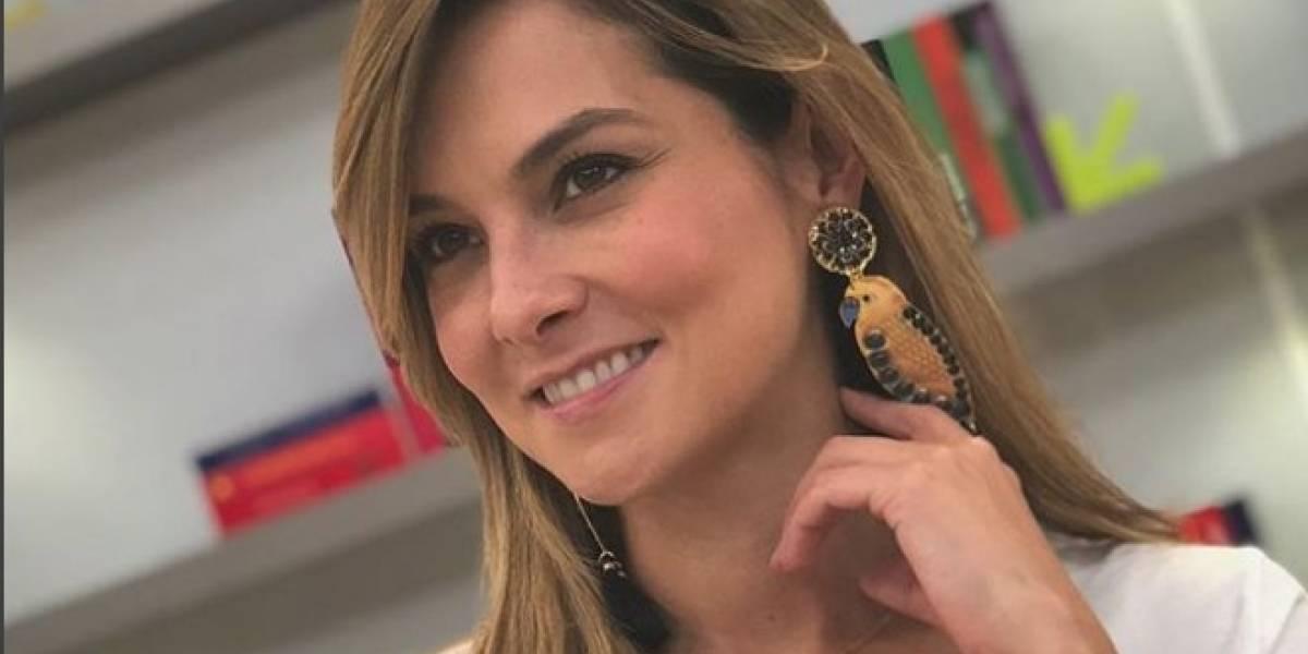 A Catalina Gómez no le perdonaron que se pusiera esta pinta en 'Día a Día'