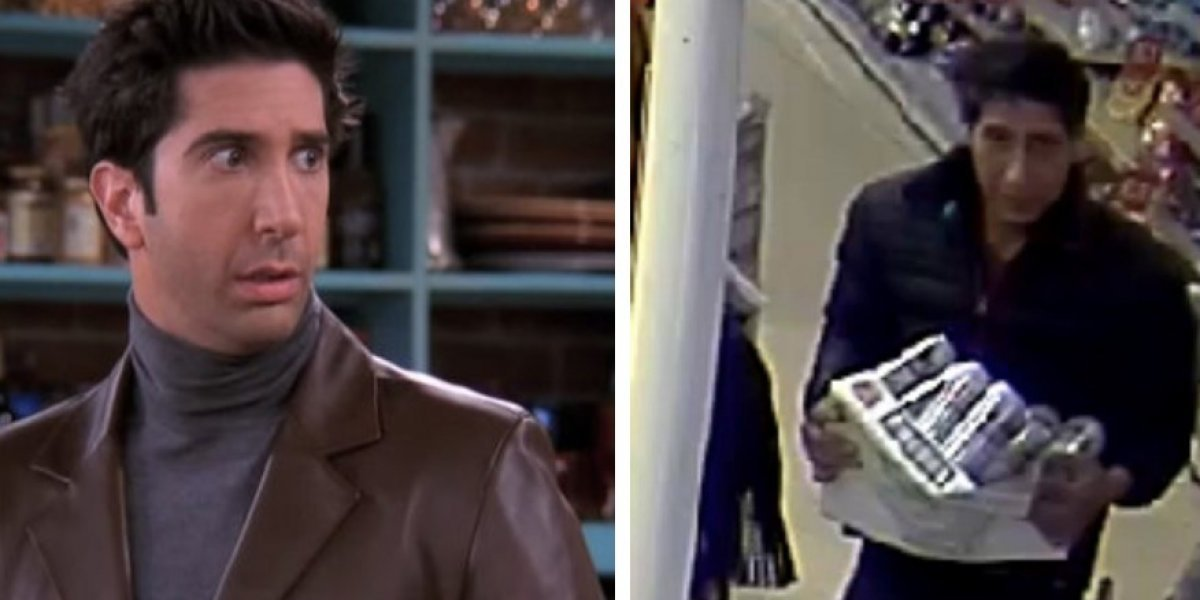 """Policía busca al """"gemelo malvado"""" de Ross Geller de Friends y se transforma en el blanco de las burlas de redes sociales"""