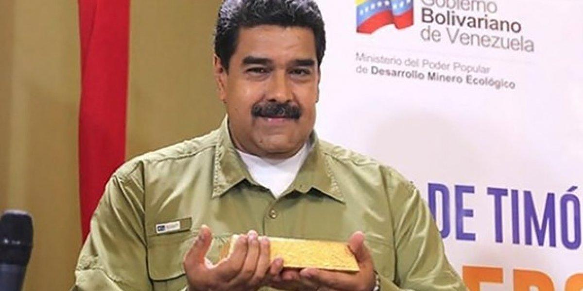 21 toneladas métricas de oro de los venezolanos sacó Maduro rumbo a Turquía denunció Estados Unidos
